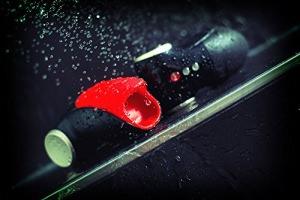 Fun Factory COBRA LIBRE V2 Akku, schwarz/schwarz, Taschenmuschi, Männervibrator (Set inkl. tollen Zubehör) Eichelstimulator, inkl. USB-Ladekabel -