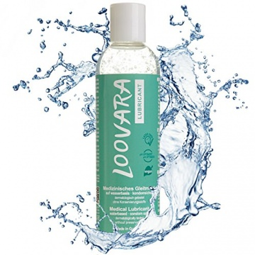 Loovara Intimate Premium Gleitgel 250 ml - Wasserbasis, Kondomsicher, Vegan -